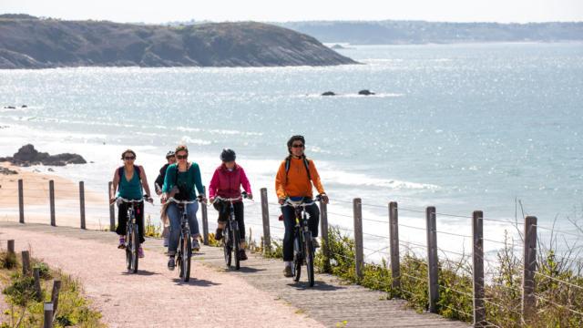 Le Cap Frehel à Vélo électrique
