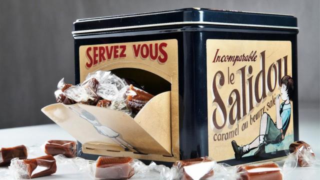 Boîte de caramels au beurre salé Salidou de la Maison d'Armorine