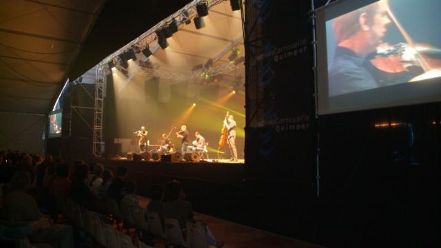 Festival De Cornouaille Espace Gradlon Intérieur écrans