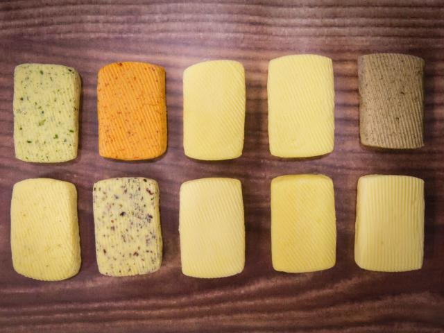 Gamme de 10 beurres Bordier