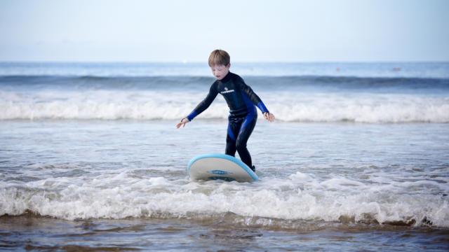 Surf, plage du Kerou