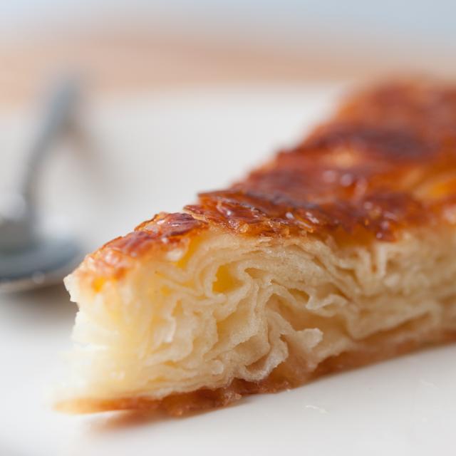 Part de pâtisserie traditionnelle bretonne