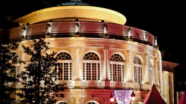 Illuminations Noël 2017 . Opéra.