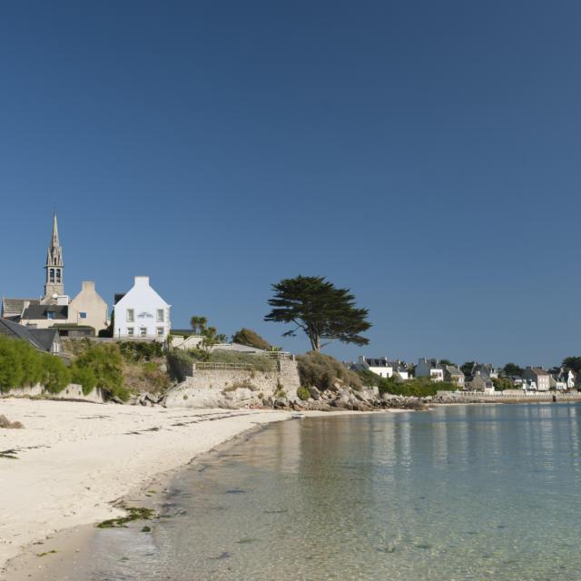Ile-de-Batz - plage près du port Kernok
