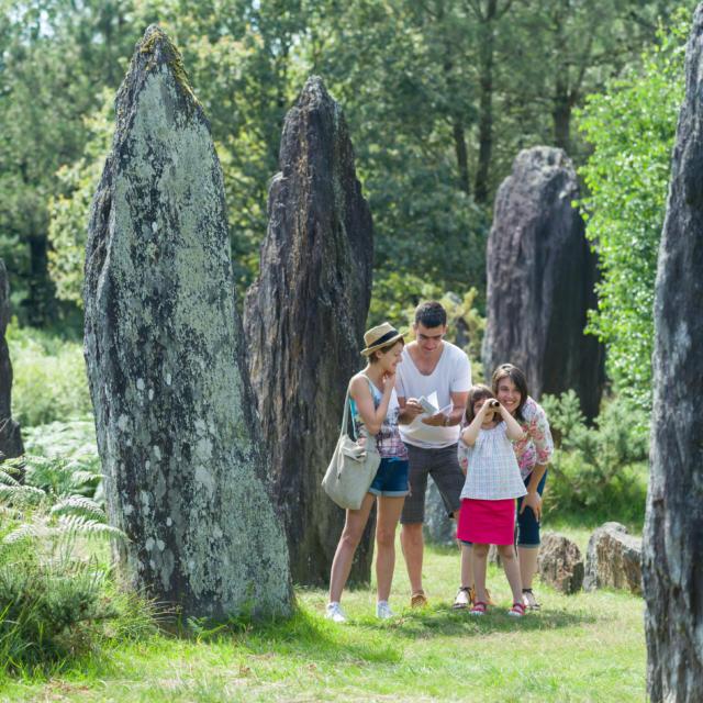 Menhirs de Monteneuf et sentier découverte
