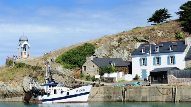Pléneuf-Val-André - Le port de Dahouet et l'Oratoire