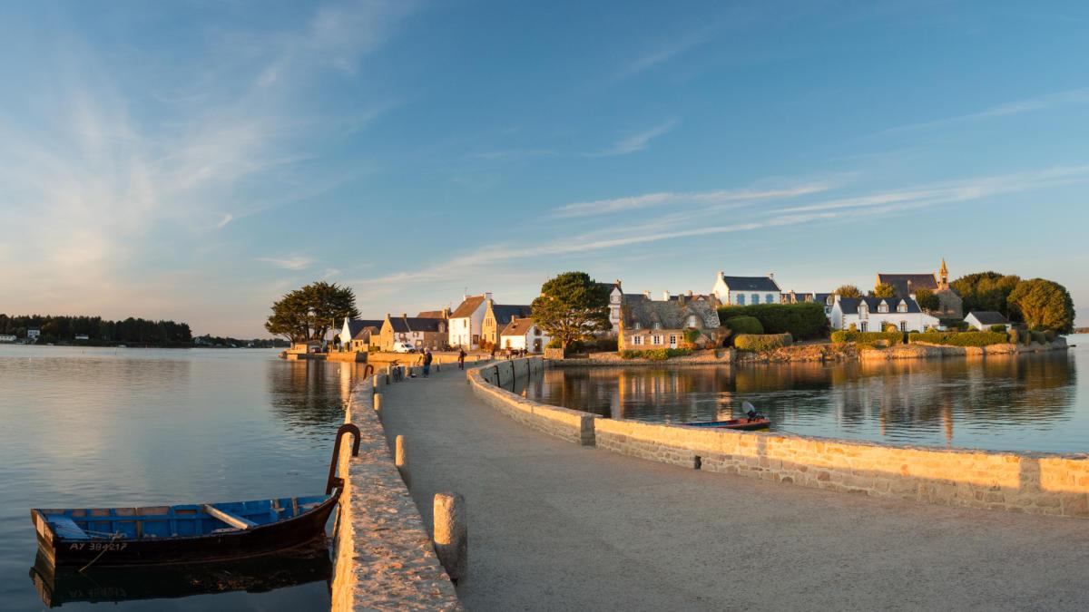 Carte Bretagne Belz.Saint Cado Et La Ria D Etel Tourisme Bretagne