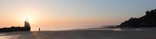 Binic-Etables sur Mer - La plage des Roches Brunes