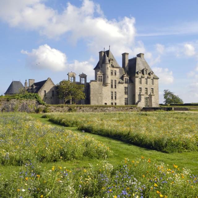 Château De Kerjean - Jardin de propreté