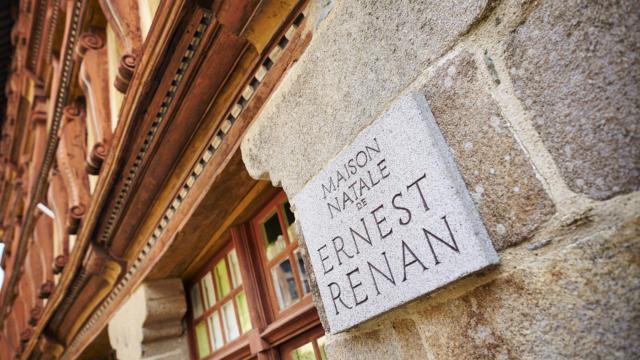 Tréguier - La maison natale d'Ernest Renan