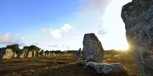 Alignements mégalithiques de Kermario - Carnac