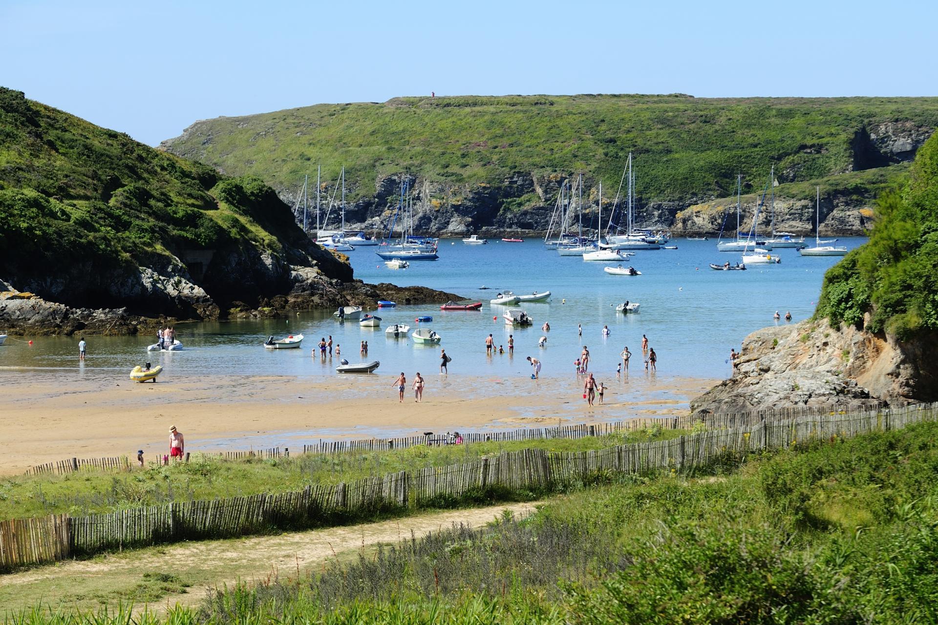 Belle Ile The Beautiful Isle Brittany Tourism