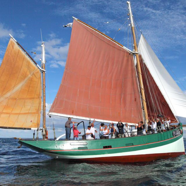 Cap sur les Sept Iles à bord d'un vieux gréement