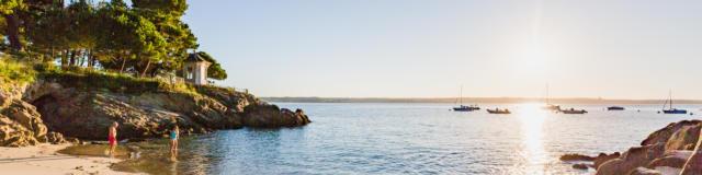 Les criques de Beg-Meil et la Pointe de Mousterlin