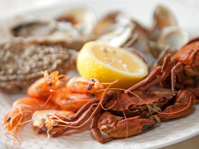 Crustacés et citron