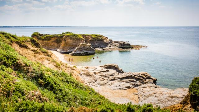 La plage de la Mine-d'Or - Pénestin