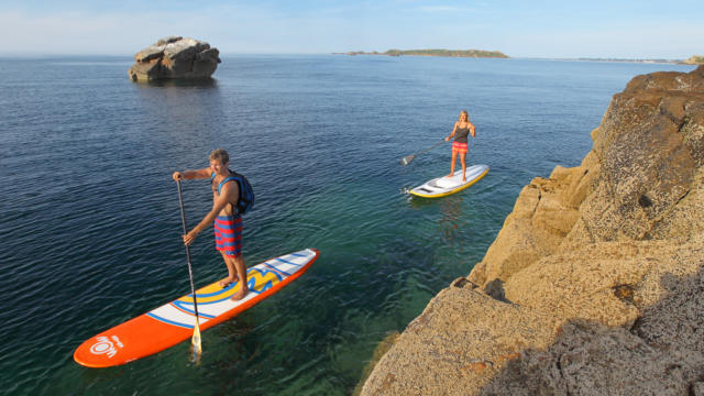 Testez le Stand Up Paddle avec le champion d'Europe