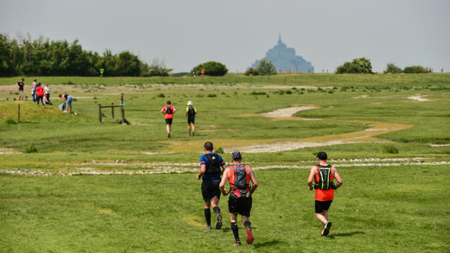 RUN MONT SAINT MICHEL - Trail de l'Archange du Mont St Michel