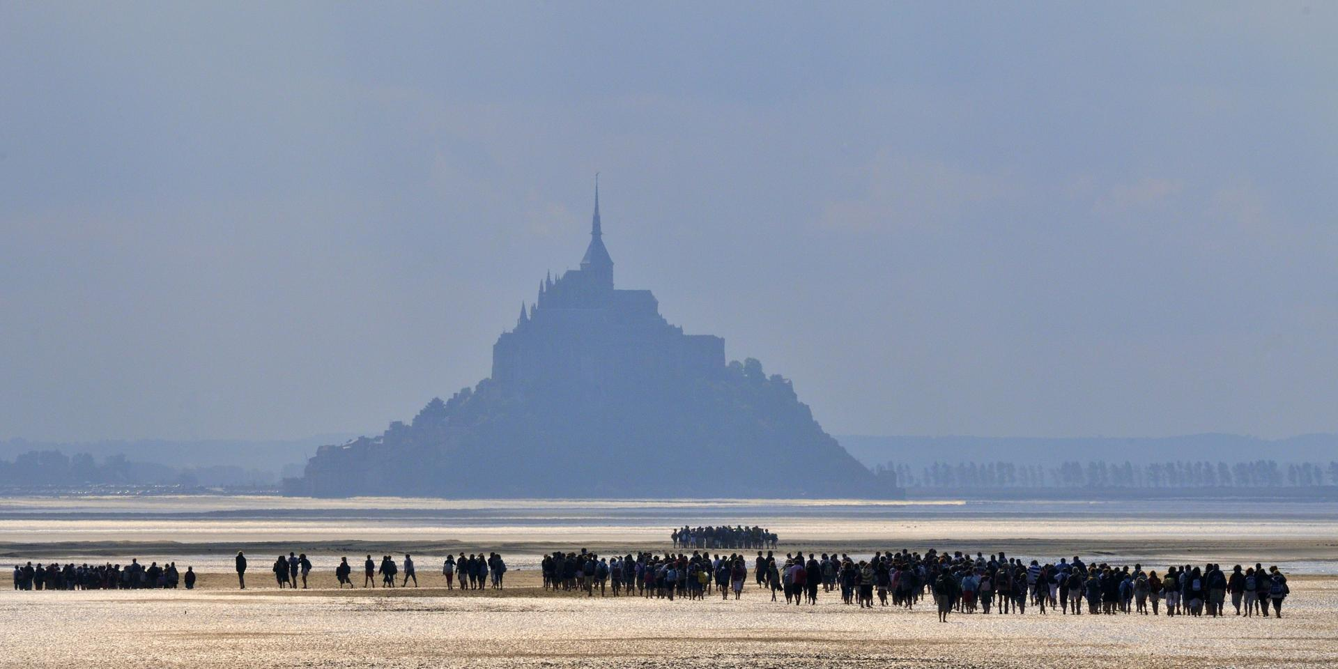 Out And About In Mont Saint Michel Bay Brittany Tourism