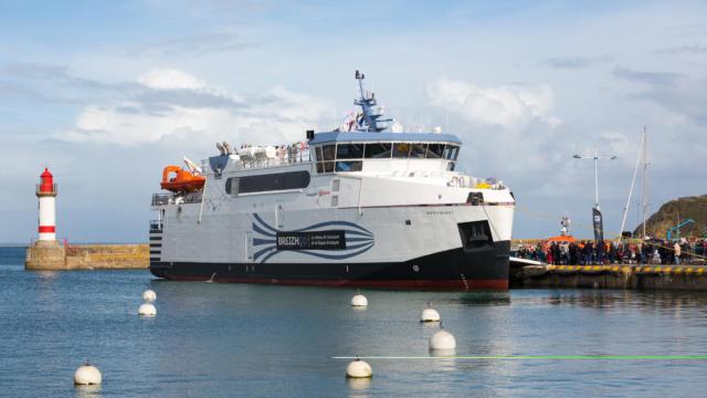 Inauguration du bateau le « BREIZH NEVEZ »