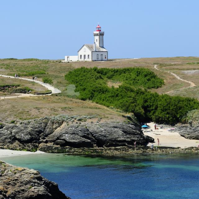 Belle île - Le phare des Poulains