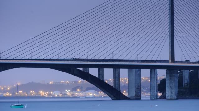 Le pont de l'Iroise -Rade de Brest