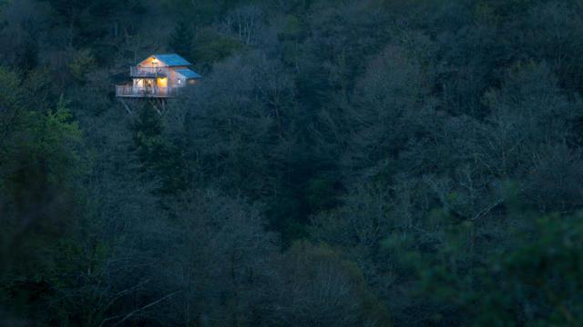 Cabane Perchée Vallée du Pratmeur - Quistinic