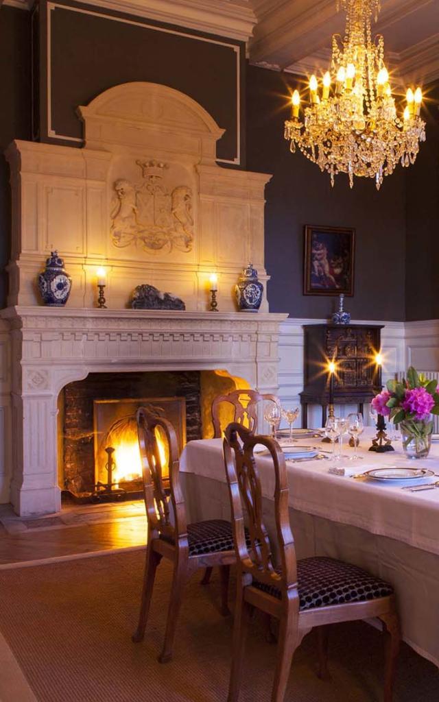 Château des Tesnières, salle à manger