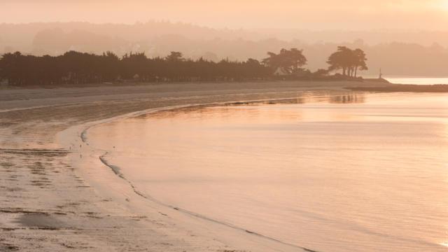 La plage de Cap Coz