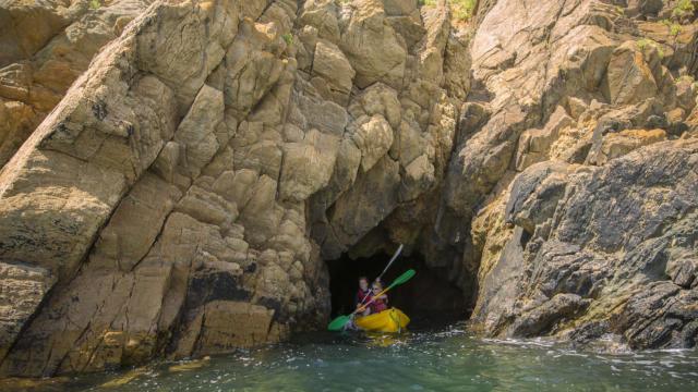 Sortie en Canoë Kayak vers les grottes
