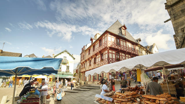Le marché de Josselin