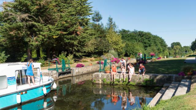 Canal de Nantes à Brest - Malestroit