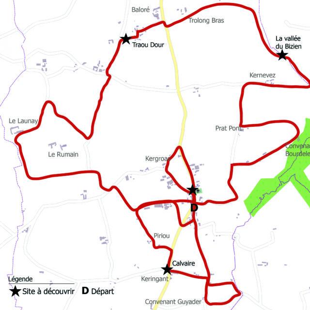 Hengoat Circuit La Balade De Logodenn Dall