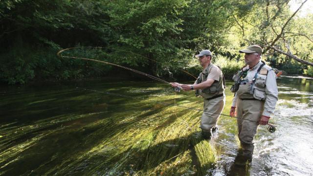 Initiez-vous à la pêche à la mouche avec Philippe