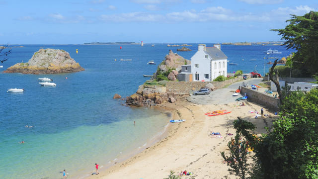 Roc'h Hir beach - Paimpol and Loguivy-de-la-mer
