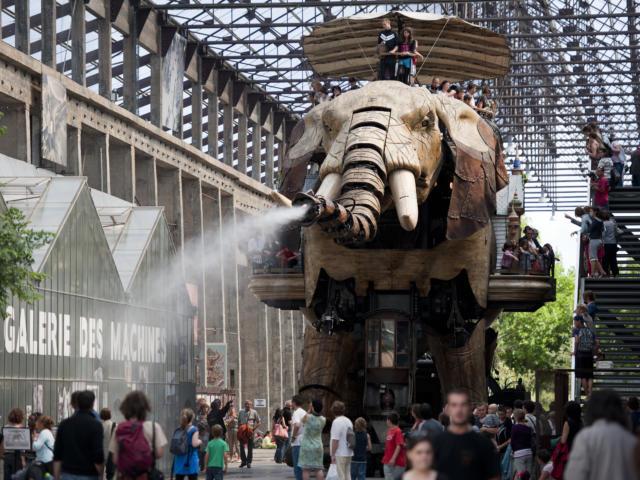 Le Grand Eléphant des Machines de l'île, Nantes