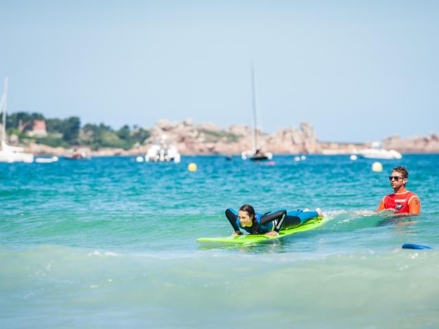 Surf à Perros-Guirec