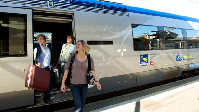Se déplacer en train en Bretagne