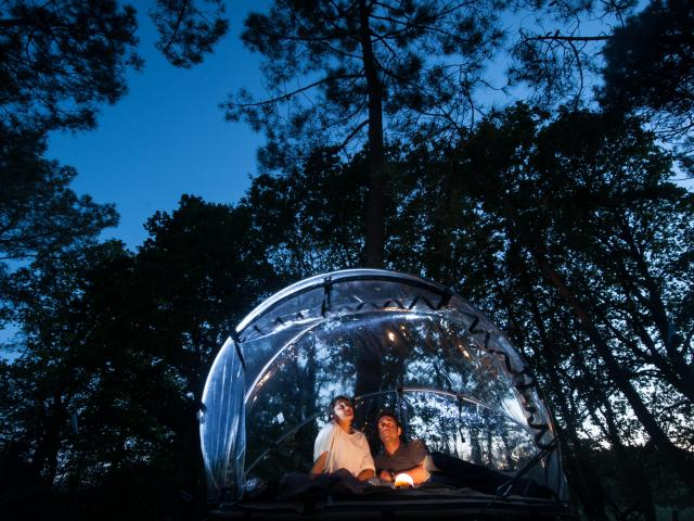 Tente bulle - Domaine De Dihan
