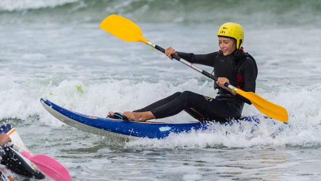 Wave-ski ou Kayak de vagues