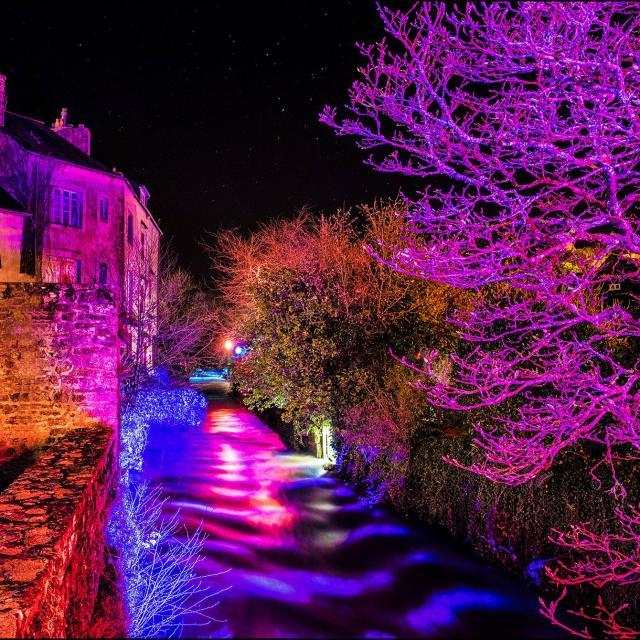 Pont-Aven - Illuminations de Noël
