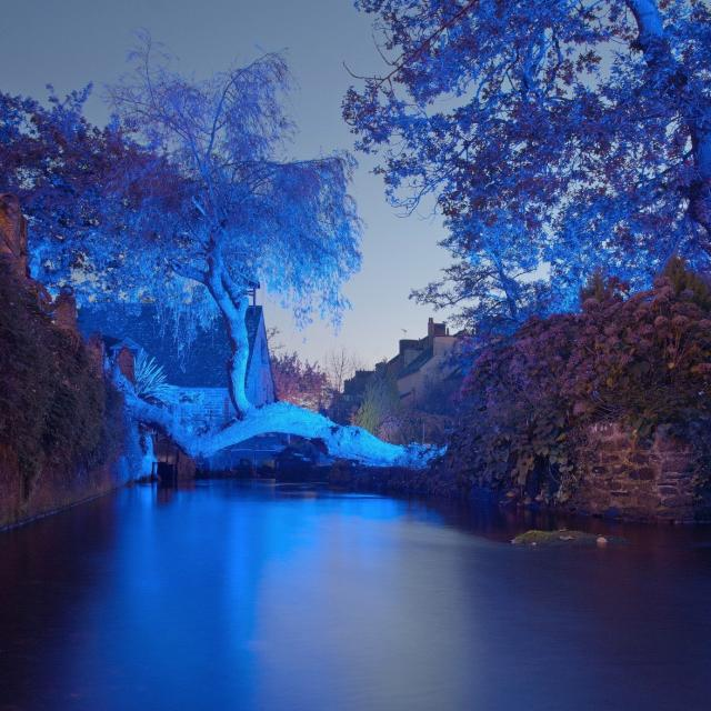 Pont Aven - Illuminations de Noël