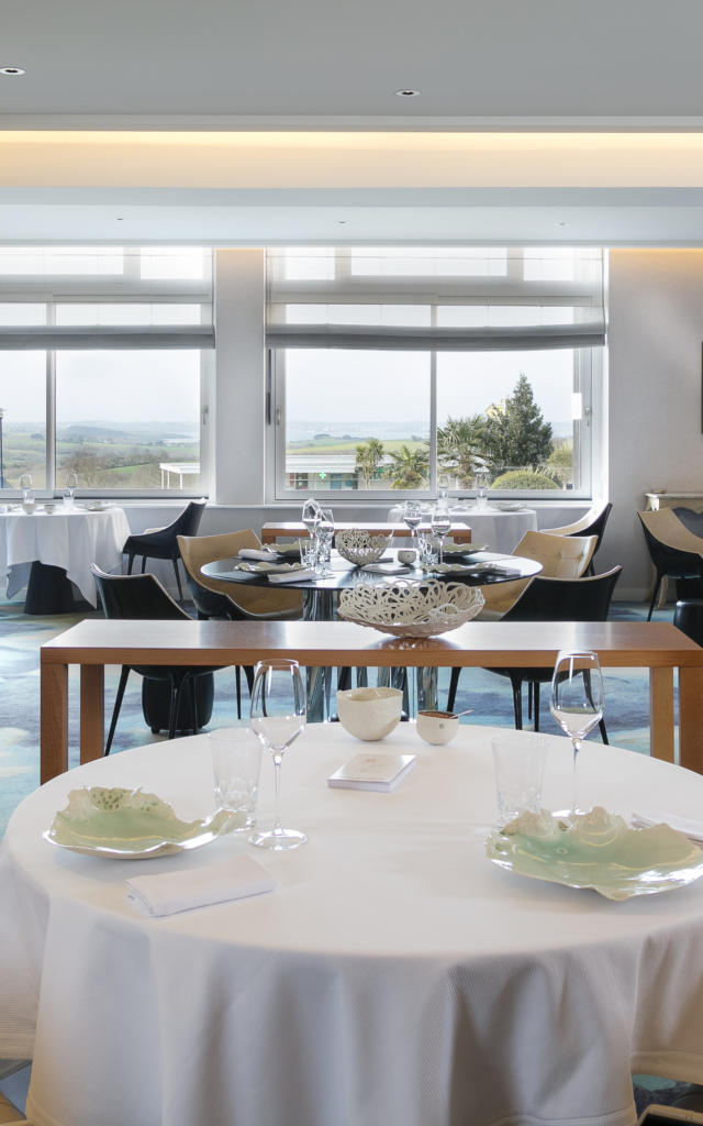 La salle de restaurant de L'Auberge des Glazicks