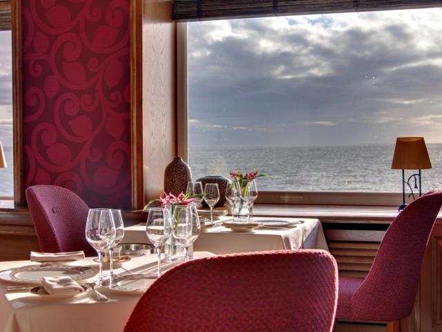 Restaurant gastronomique vue mer - Domaine de Rochevilaine