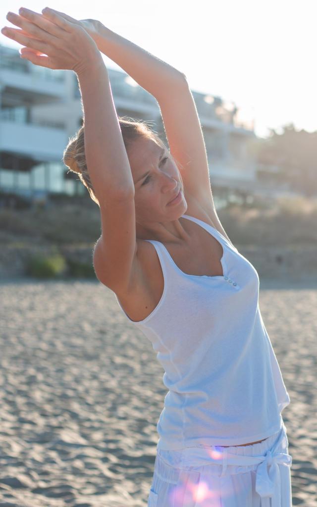 Thalasso-Quiberon-Yoga sur la plage