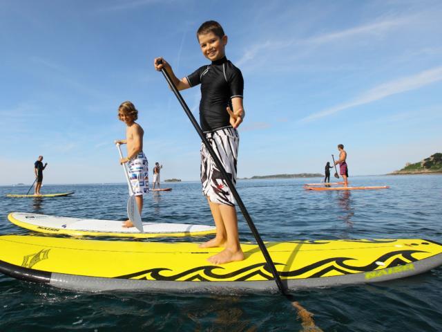 Balades et rando nautiques - stand up paddle à Ploumanac'h