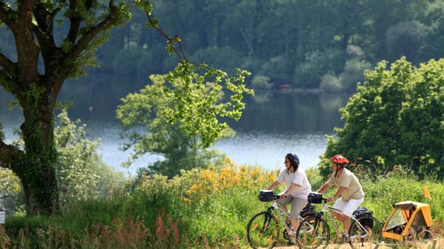 La vélodyssée - Lac de Guerlédan