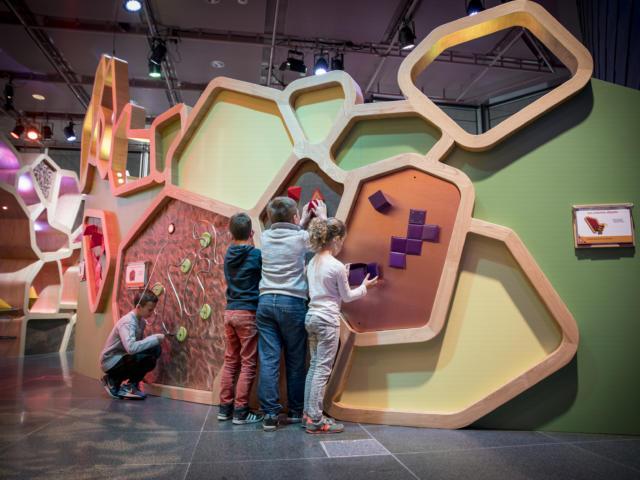 Labo de Merlin - exposition permanente des Champs Libres