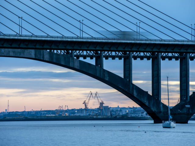 Pont de l'Iroise - Rade de Brest