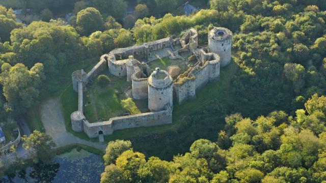 Château de Tonquédec - Vallée du Léger